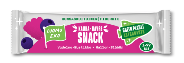 Pink Oat Bar Made In Finland